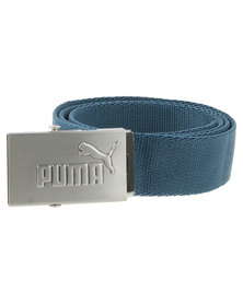 Puma Active Webbing Belt Blue