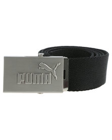 Puma Active Webbing Belt Black