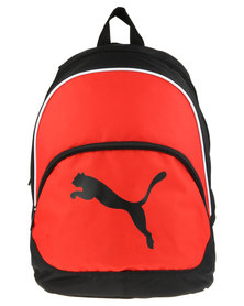 Puma Performance Team Cat Backpack Red/Black