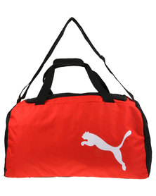 Puma PerformanceTeam Medium Bag Black/Red