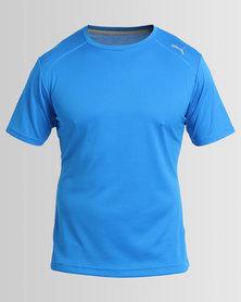 Puma Performance Essential Dry Short Sleeve Tee Blue