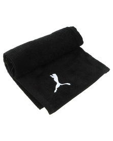 Puma Performance Gym Towel Black