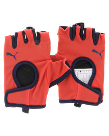 Puma Performance Gym Gloves Red