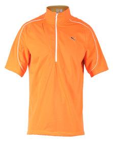 Puma Golf Knit Wind Jacket Orange