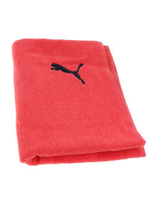 Puma Performance Training Towel Red