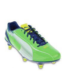 Puma evoSPEED 1 SG Soccer Boots Green
