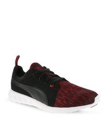 Puma Performance Carson Runner Glitch Running Shoes Black