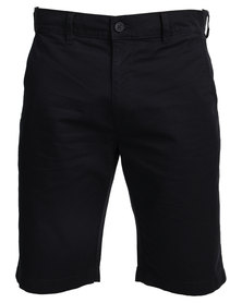 Queenspark Chino Shorts Navy
