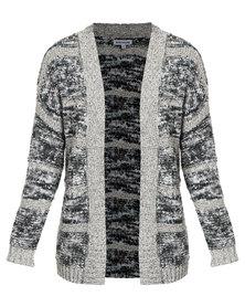 Queenspark Knitwear Cardigan Grey