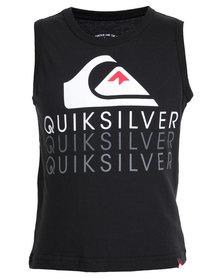 Quiksilver Rainbow Country Tods Vest Black