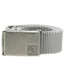 Quiksilver Principle Webbing Belt Grey