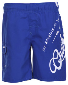 Quiksilver Bambino Volley Toddlers Shorts Blue