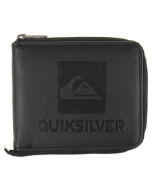 Quiksilver Locked Up Wallet Black
