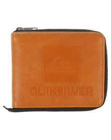 Quiksilver Locked Up Wallet Tan