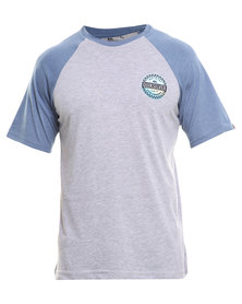 Quiksilver I Jaz Pharted T-Shirt Grey
