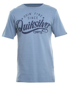 Quiksilver Live Wind T-Shirt Blue