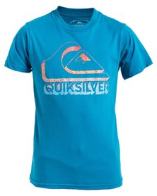 Quiksilver Boys All In T-Shirt Blue
