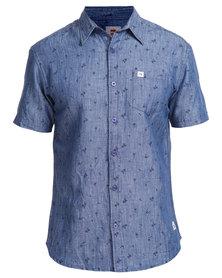 Quiksilver Sandpiper Denim Shirt Light Blue