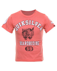 Quiksilver Wild Cats Tee Red