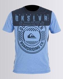 Quiksilver R&R T-Shirt Blue