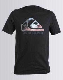 Quiksilver Photo Logo T-Shirt Black