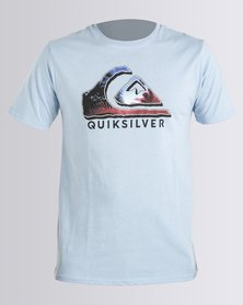 Quiksilver Photo Logo T-Shirt Blue