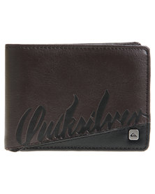 Quiksilver Optimal Wallet Brown