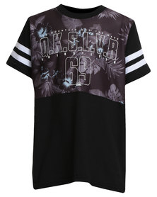 Quiksilver Boys Island Man T-Shirt Black
