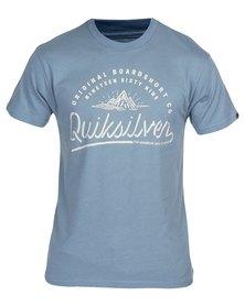 Quiksilver Mountain Point T-Shirt Blue