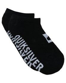 Quiksilver Boys Ankle Socks Single Black