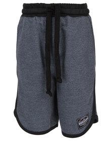 Quiksilver Boys Fuzzballer Shorts Black