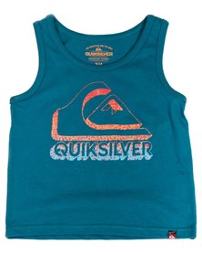 Quiksilver Tods Chin Up T-Shirt Blue