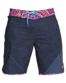Quiksilver AG47 New Wave 19 inch Boardies Navy