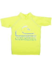 Quiksilver Tods Confused Rashvest Yellow