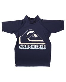 Quiksilver Tods Confused Rashvest Blue