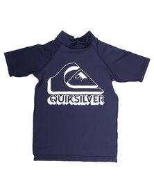 Quiksilver Boys Confused Rashvest Blue