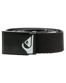 Quiksilver Low Rider Webbing Belt All Black