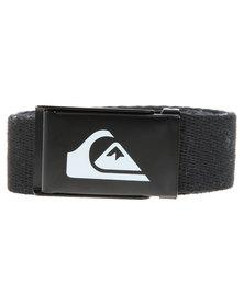 Quiksilver Easy Web Belt Black