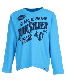 Quiksilver Toddlers Messi T-Shirt Blue