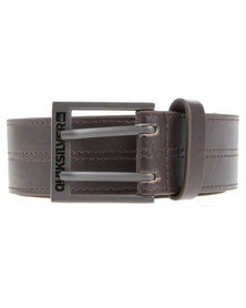 Quiksilver Loaded Belt Brown
