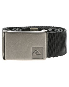 Quiksilver Principle Webbing Belt Black
