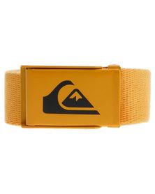 Quiksilver Easy Web Belt Orange