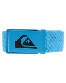 Quiksilver Easy Web Belt Blue