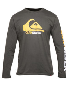 Quiksilver Mountain Waves LS Tee Olive