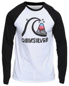 Quiksilver Samoan Long Sleeve Raglan T-Shirt