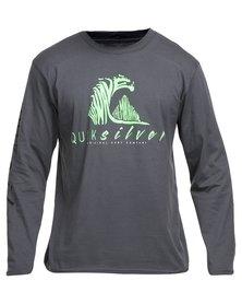Quiksilver Cold December Long Sleeve T-Shirt Grey