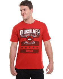 Quiksilver Regulate SS Tee Red