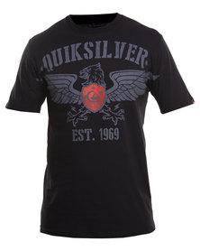 Quiksilver Beaver SS Tee Black