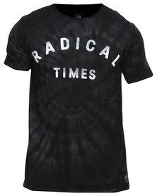 Quiksilver Radical Time T-Shirt Grey