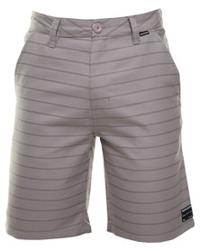 Quiksilver Tiger Times 20' Shorts Grey